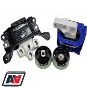 SuperPro Duro Polyelast Engine Mount Kit VW Golf Mk7 GTi VW Golf R 4 Motion TRC2001